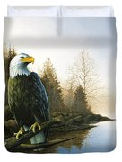 Majestic Light - Eagle Duvet Cover