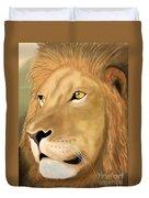 Majestic Lion Duvet Cover