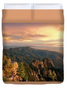 Majestic Mountain View Duvet Cover