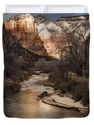 Majestic Mountains-zion Duvet Cover