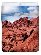 Majestic Red Rocks Duvet Cover