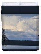 Majestic Storm Clouds  Duvet Cover