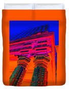 Majestic Theater Column Duvet Cover