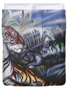 Majestic Tiger Duvet Cover