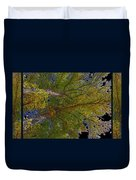 Majestic Trees Abstract Poster 2 Duvet Cover