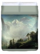 Majesty Of The Mountains Duvet Cover