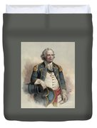 Major General Israel Putnam Duvet Cover