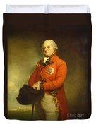 Major-general Sir Archibald Campbell Duvet Cover