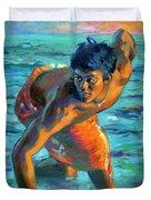 Makana Sunrise Duvet Cover