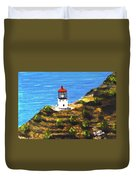 Makapuu Lighthouse #78, Duvet Cover