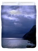 Makapuu Moon Duvet Cover
