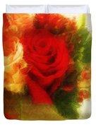 Make Mine Roses Please Too Duvet Cover
