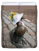 Make Way For Ducklings Duvet Cover