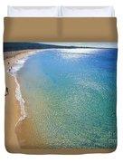 Makena Beach Duvet Cover