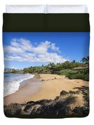 Makena, Changs Beach Duvet Cover