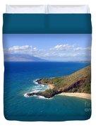 Makena, Maui Duvet Cover