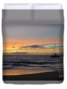 Makena Sunset Duvet Cover