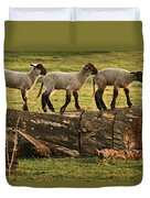 Makeway For Lambs Duvet Cover