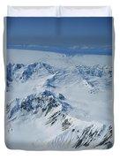 Malaspina Glacier Duvet Cover
