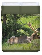 D10271-male Elk 2  Duvet Cover