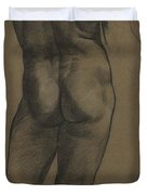 Male Nude Study Duvet Cover