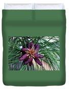 Male Ponderosa Pine Cones Duvet Cover