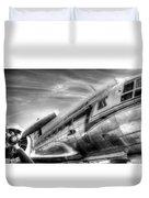 Malev Airlines Ilyushin Il-14 Duvet Cover