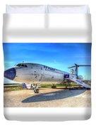 Malev Airlines Tupolev Tu-154 Duvet Cover