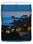 Malibu Beach House - Evening Duvet Cover