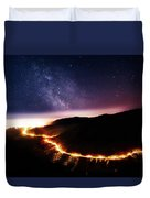 Malibu Canyon Ring Of Fire Duvet Cover