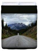 Maligne Lake Road Jasper National Park Duvet Cover