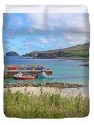 Malin Pier #2 Duvet Cover