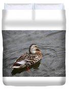 Mallard Hen 20130924_309 Duvet Cover