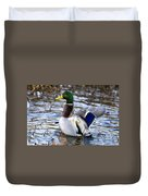 Mallard Moment Duvet Cover