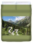 Maloja Pass In Graubunden, Switzerland Duvet Cover
