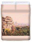 Malta Wall  Duvet Cover