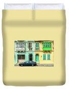 Maltase Style Doors And Windows  Duvet Cover