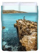 Maltese Dream Duvet Cover