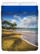 Maluaka Beach Duvet Cover