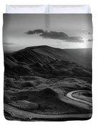 Mam Tor In Derbyshire Duvet Cover