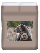 Mama And Me Duvet Cover