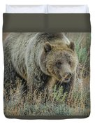 Mama Grizzly Blondie Duvet Cover
