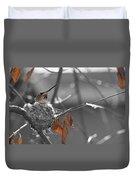 Mama Hummingbird Duvet Cover