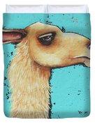 Mama Llama Duvet Cover
