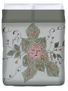 Mama Rose And Her Babies Duvet Cover