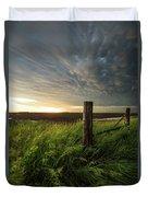 Mammatus Sunset Duvet Cover