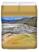 Mammoth Hot Springs1 Duvet Cover