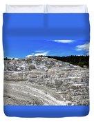 Mammoth Hot Springs2 Duvet Cover