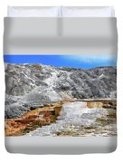 Mammoth Hot Springs3 Duvet Cover