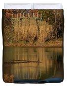 Mammoth Spring Arkansas Duvet Cover